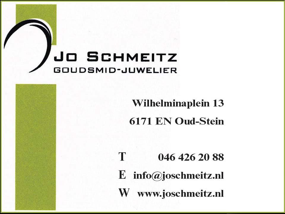 Jo Schmeitz, Goudsmit - Juwelier