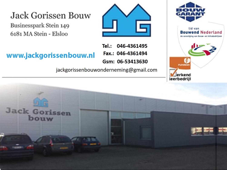 Jack Gorissen Bouw