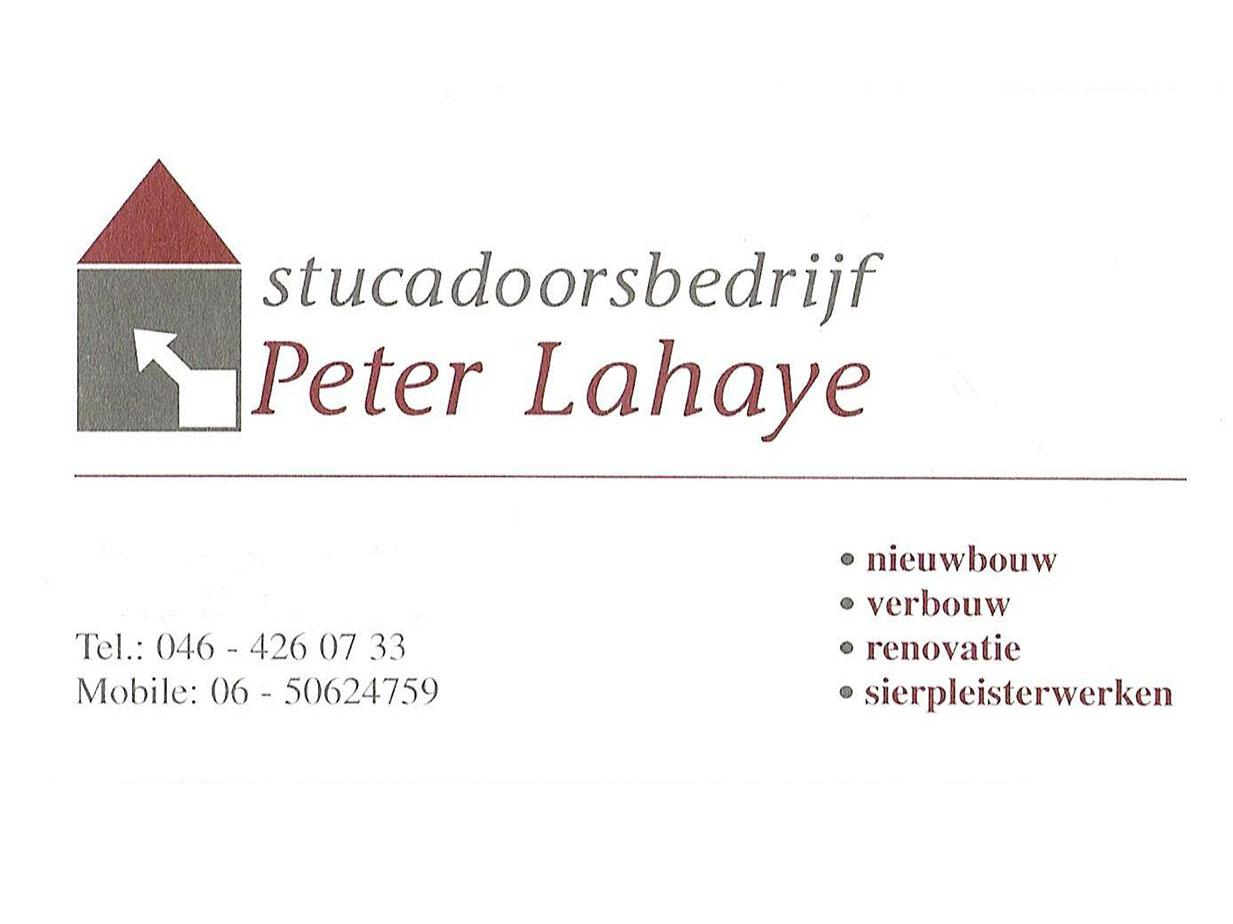 Stucadoorsbedrijf Peter Lahaye