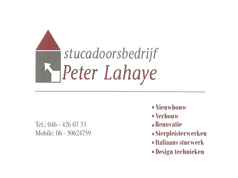 Stucadoorsbedrijf Peter Lahay